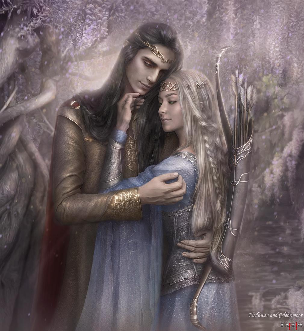Celebrimbor and Eledhwen
