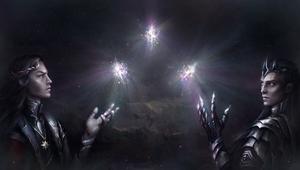 Feanor, Melkor and Silmarils