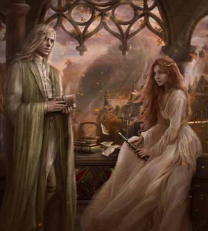 Glorfindel and Vanais