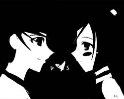 Black and White by Ge-B