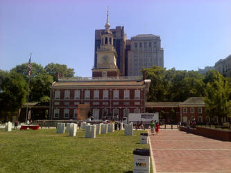 Independence Hall by redmustang03