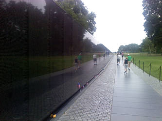 Vietnam Memorial by redmustang03