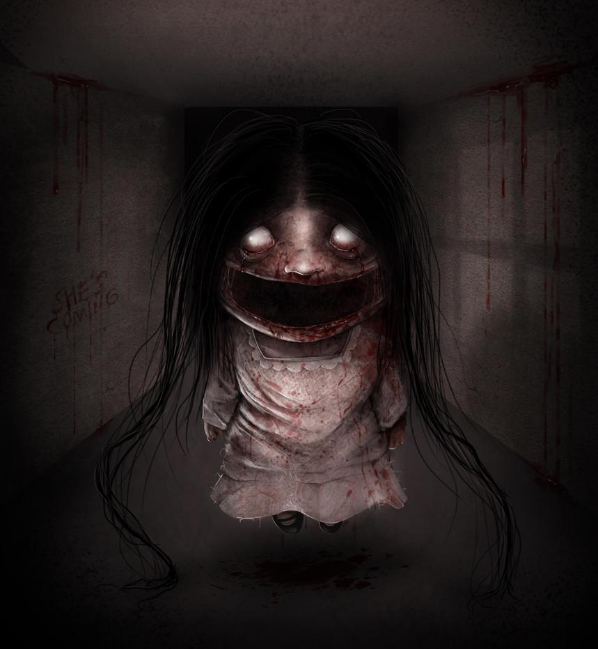 Little girl demon by D4rkharlequin