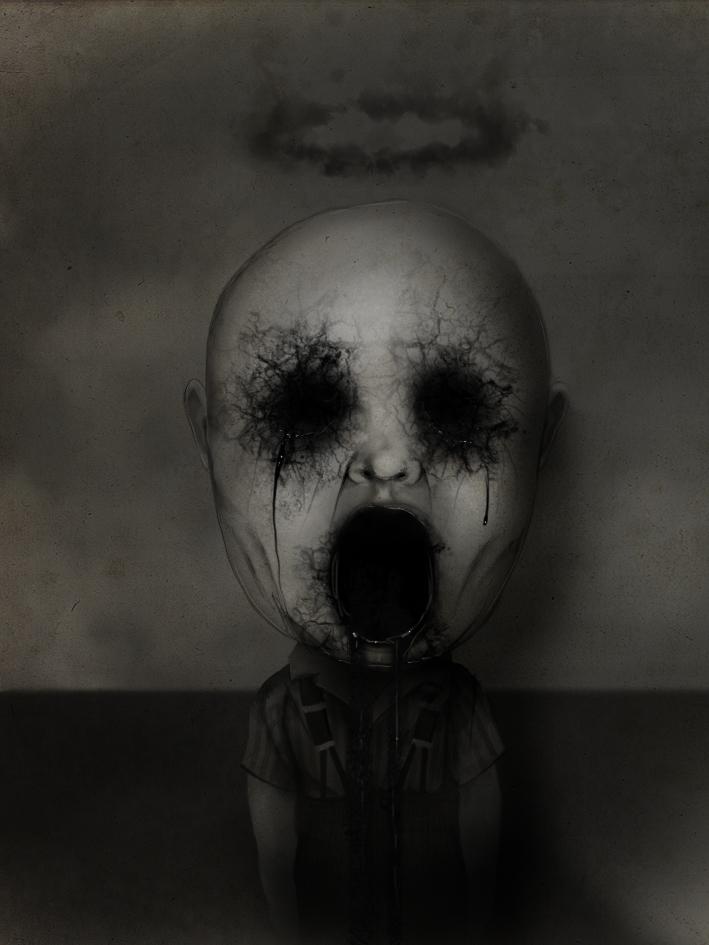 Child demon by D4rkharlequin
