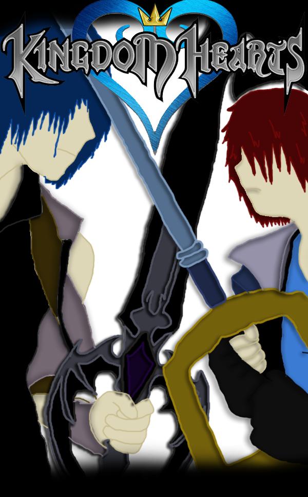 axan and vixor fight by ninjacat9000