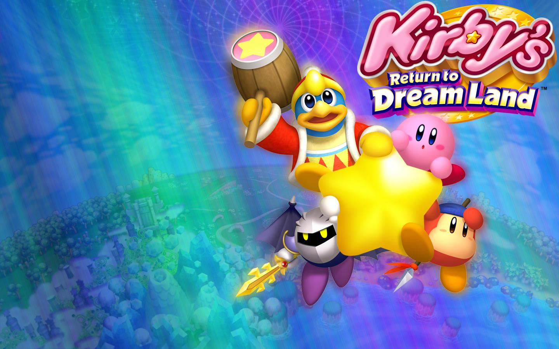 Kirby S Return To Dreamland Wallpaper Warp Star By