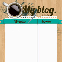 Personal blog layout by Argussov
