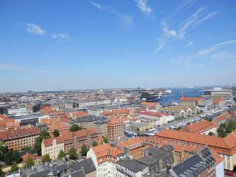 Copenhagen from above by Argussov
