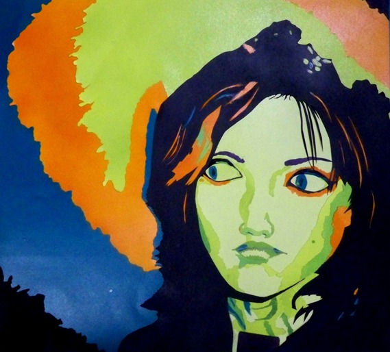 Cut Paper Self-Portrait by Divulged