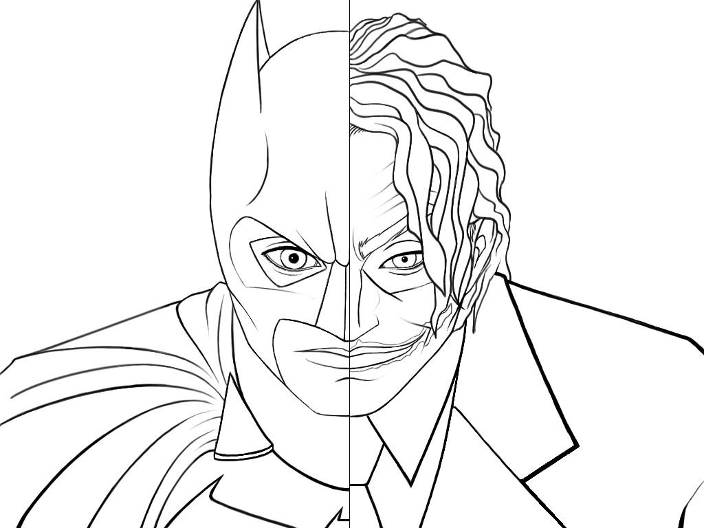 Batman Vs Joker Coloring Pages Coloring Pages Batman And Joker Coloring Pages