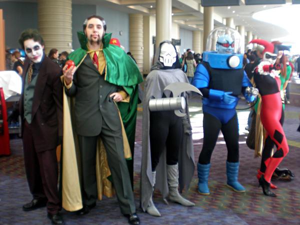MegaCon DC Villains by Sonic1002