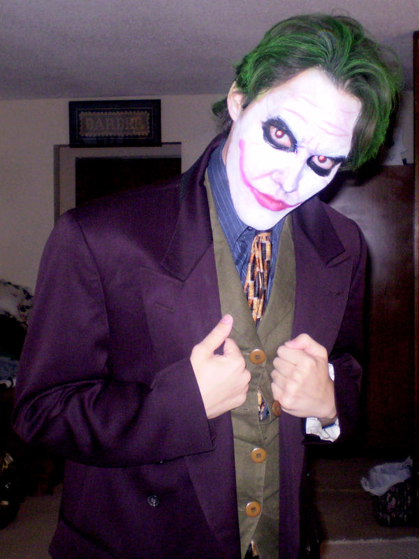 New Joker Make-Up Trial by Sonic1002