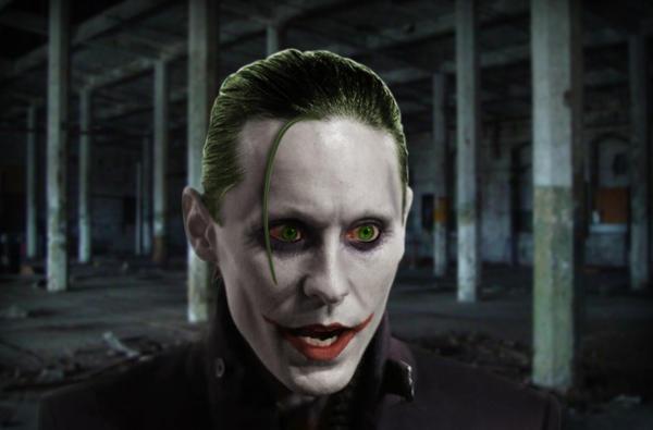 Jared Leto as Joker by Sonic1002