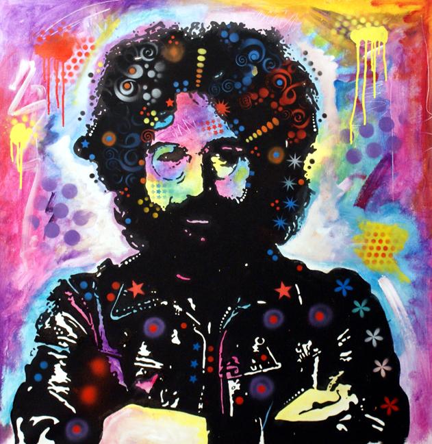 Jerry Garcia By Deanrussoart
