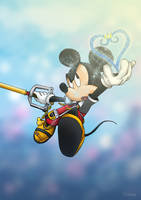 King Mickey by arthelius