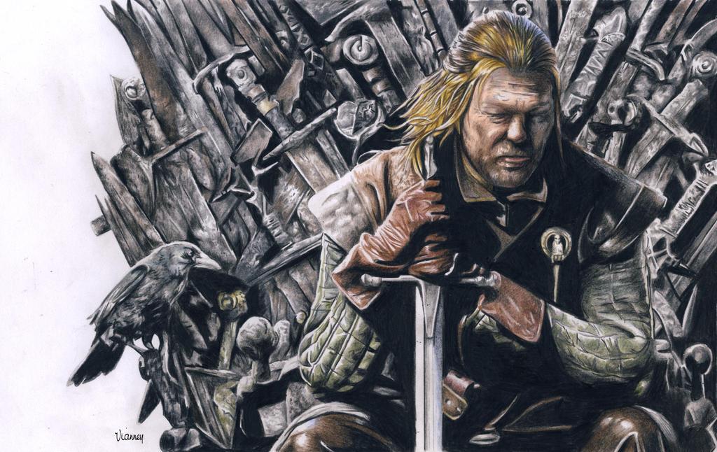 Eddard Stark by arthelius