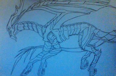 Corrin Dragon by Evodolka