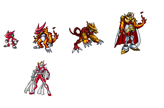 Digimon Fusion Evolution Pictures to Pin on Pinterest ...