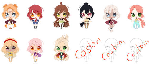 Adopts 200 points(open) 3 by Misakipictures
