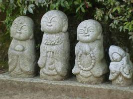 More Cute Jizos by Ekuboryu