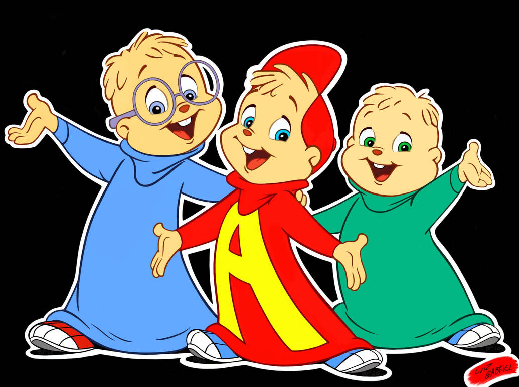 Alvin And The Chipmunks (cartoon HD) By Luizgabriel963 On