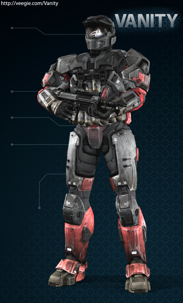 my halo reach character by thellt on DeviantArt