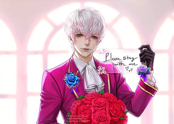 Ray - Mystic Messenger by Myme1