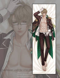 Dakimakura commission: Kent by Myme1