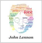 John Lennon Typographic