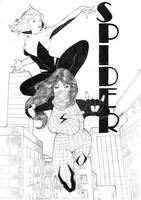 Silk and Spider Gwen by kaloy-costa