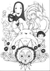 Studio Ghibli by kaloy-costa