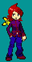 HG/SS Sprite of Silver in 8-Bit by Piko-the-Pichu