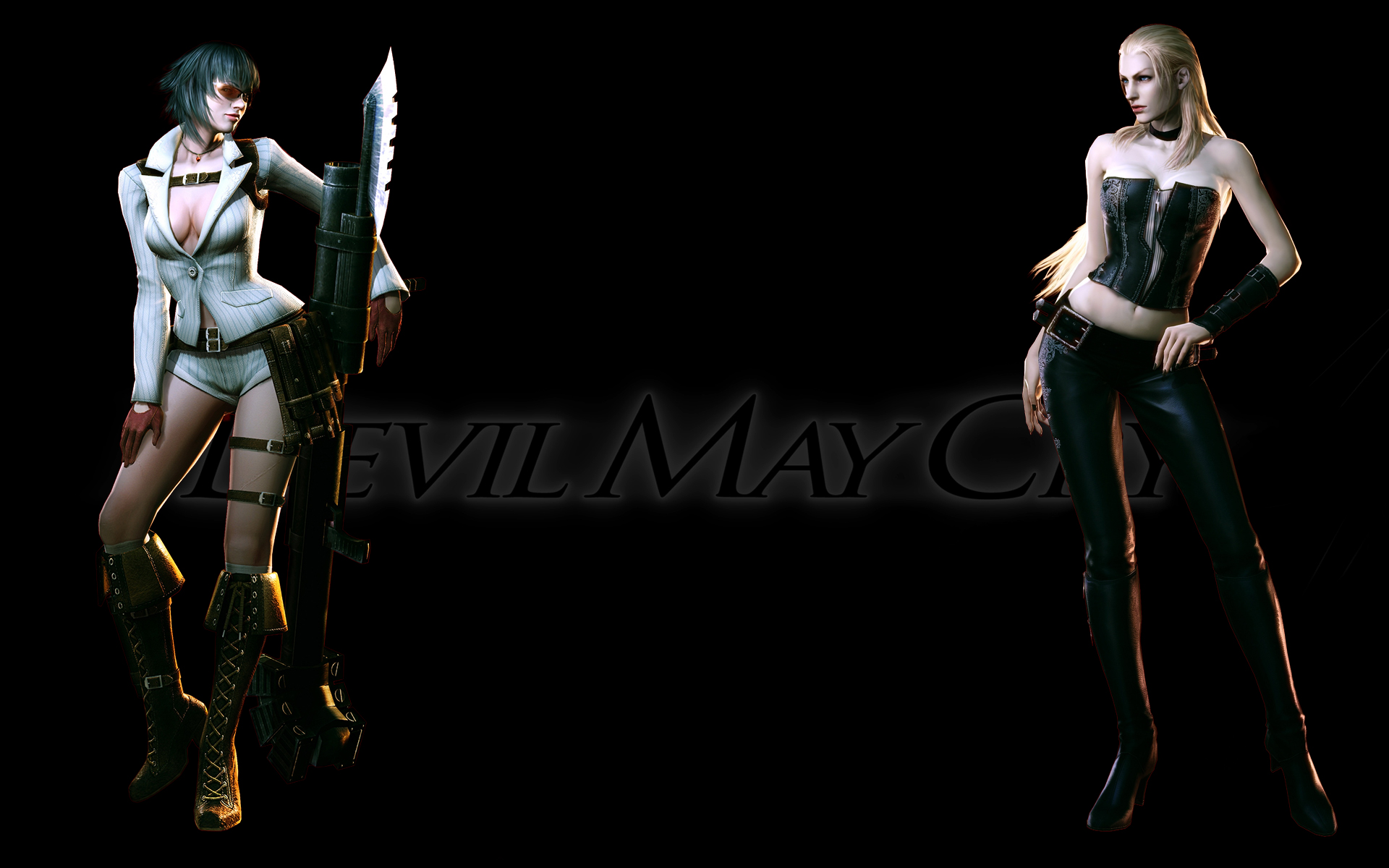 Devil May Cry 4 Girls Hd By Madein1985 On Deviantart