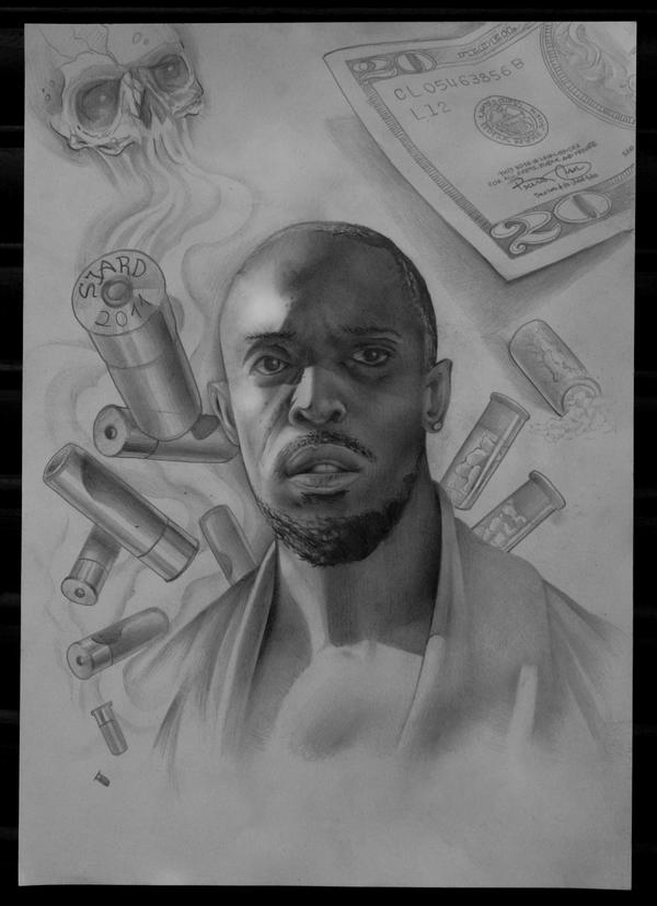 Omar Little By Sjard