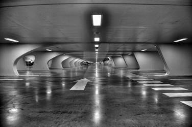 Train Station by Romaindolter