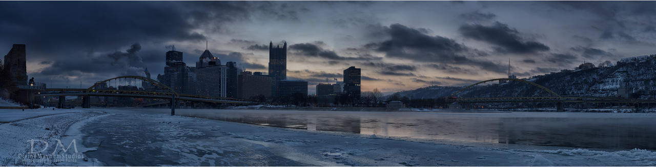 Allegheny Ice Flow by mastermayhem