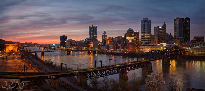 Springtime Sunset by mastermayhem
