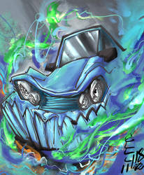 Car Teeth Experiment 3 by midoryu
