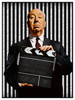 Alfred Hitchcock by PsycoJimi