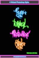 Wicked Photoshop Styles by PsycoJimi
