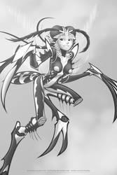 Mosquito girl by Ecchirality