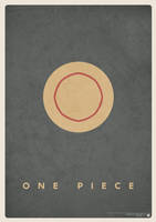 Minimalist One Piece Poster by nicologomez