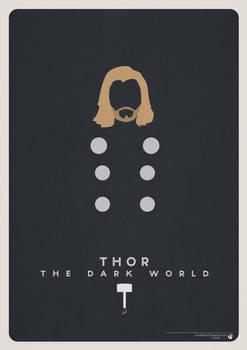 Minimalist Thor Poster