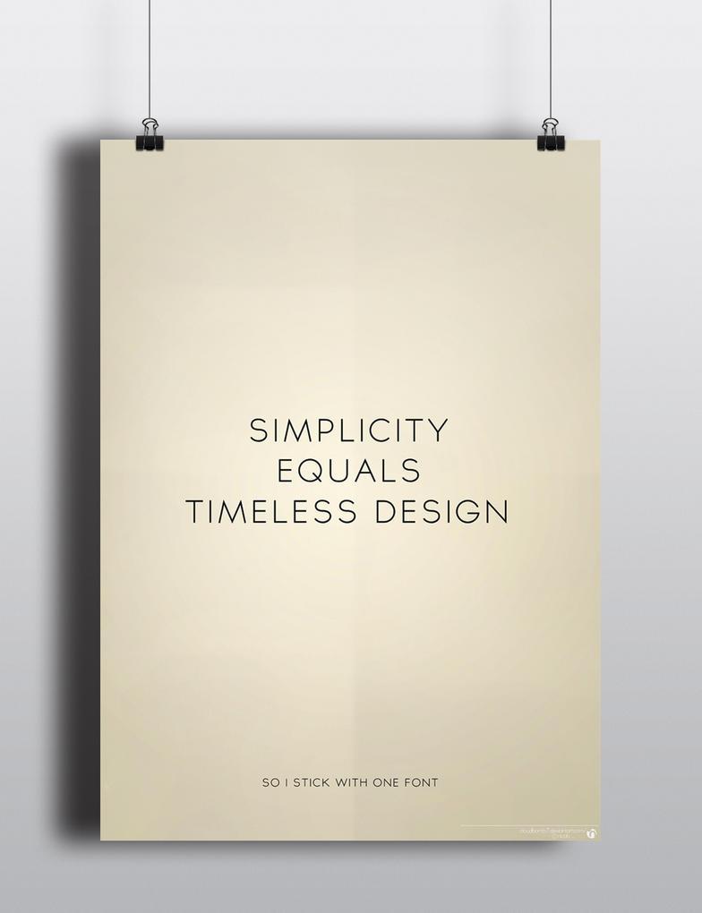 Simplicity Equals Timeless Design By Nicologomez On DeviantArt