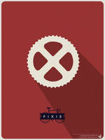 Fixed Gear Bike Poster by nicologomez