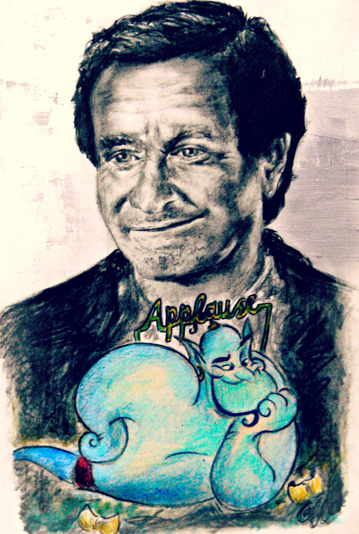 tribute to a brilliant man (robin williams) by masterpandastudios