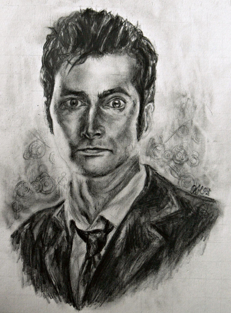 The Tenth Doctor by masterpandastudios