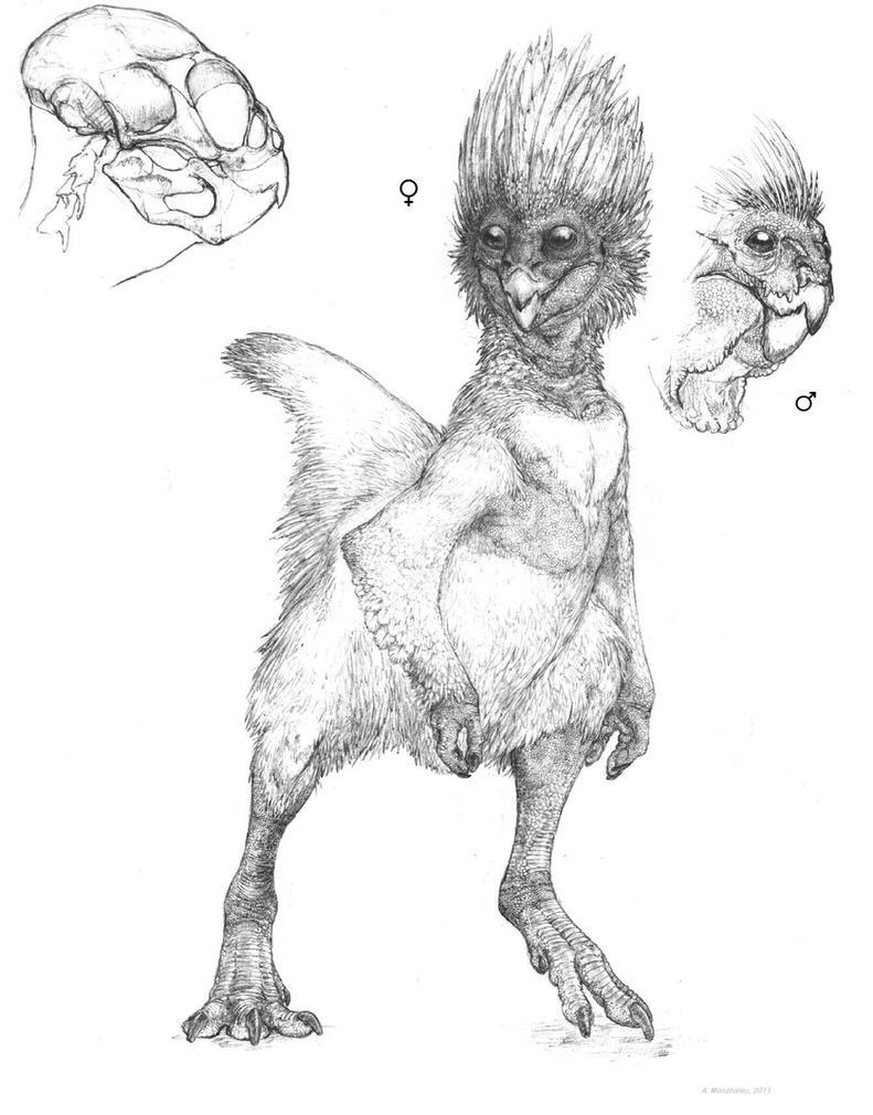 Dinosauroid v.2 by Monopteryx