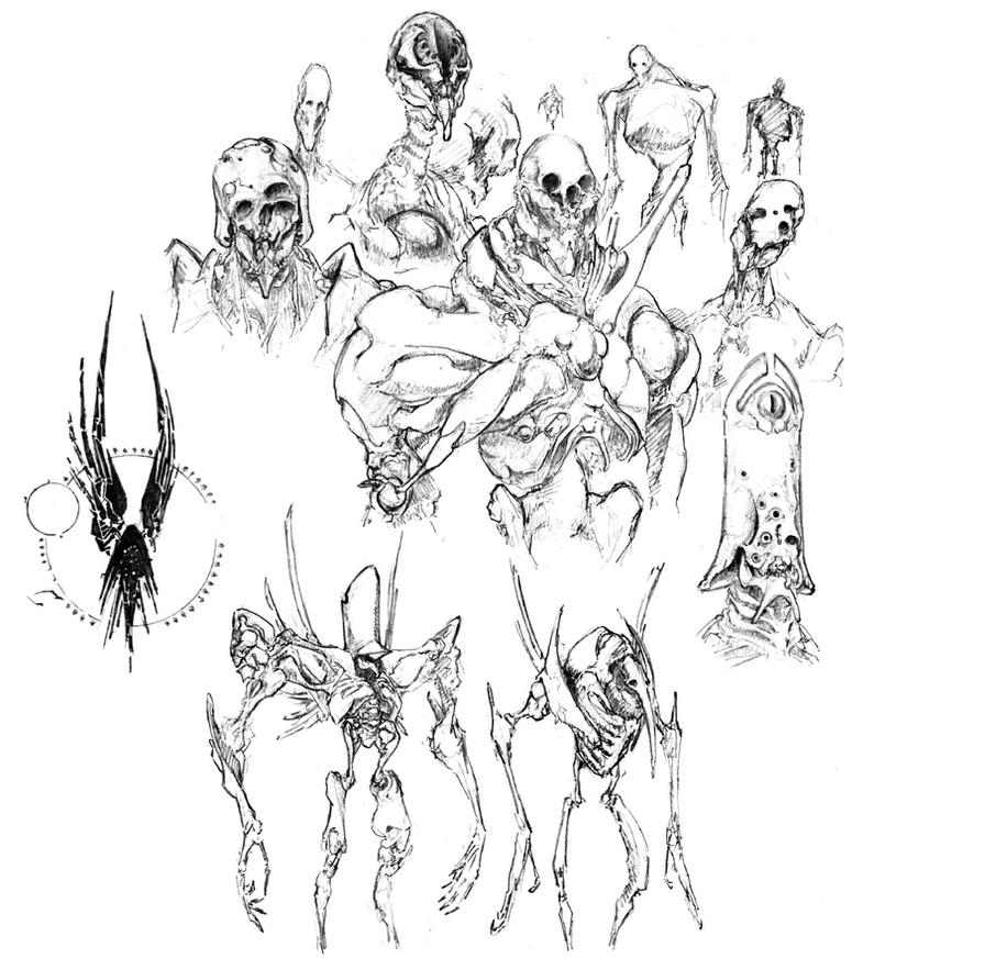 Children of Thanatos by Monopteryx