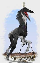 Deer ptyrosaur by Monopteryx